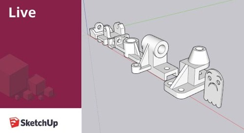 Live Modeling Machine Parts in SketchUp!
