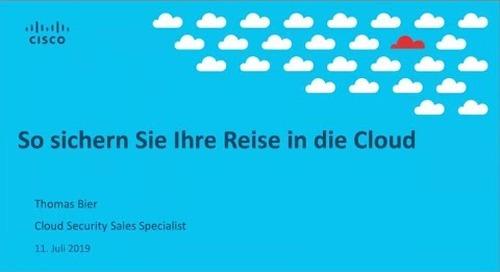 Webinar: So sichern Sie Ihre Reise in die Cloud