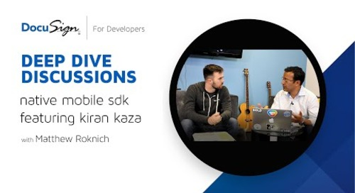 DocuSign Developer: iOS SDK