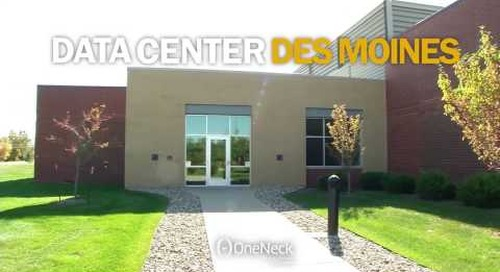 OneNeck data center in Des Moines, IA