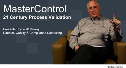 21st-Century Process Validation