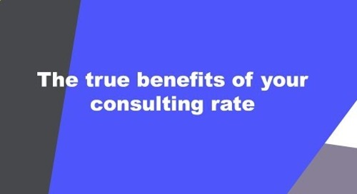 Because you're worth it: 5 ways to explain your rate to a client
