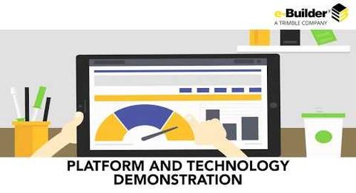 Welcome to e-Builder Enterprise - Platform and technology Demonstration