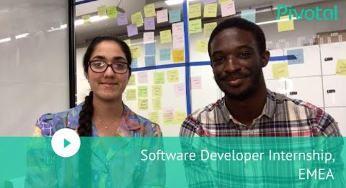 EMEA - Join us as a Software Developer Intern