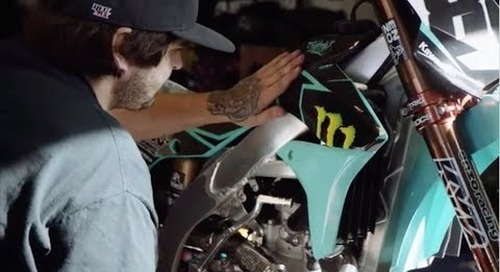 Acerbis Teal Kawi Kit