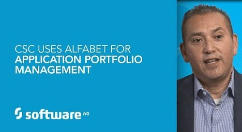 CSC uses Alfabet for application portfolio management