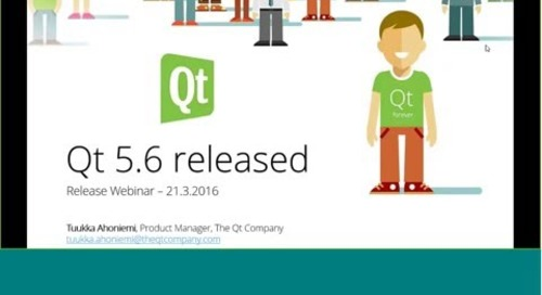 Meet Qt 5.6