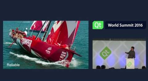 QtWS16- Smooth sailing with OpenGL ES and QML, Jeremy Stott, BEP Marine