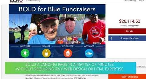 In a Flash: Blackbaud Peer-to-Peer Fundraising powered by JustGiving
