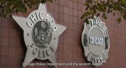 The road to Citigraf with the Chicago PD (with subtitles)