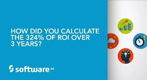 How did you calculate the 324% of ROI over 3 years?
