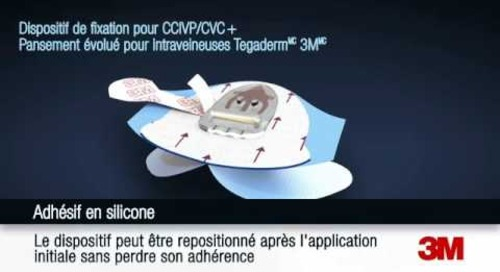 Application et retrait du Dispositif de fixation pour intraveineuses Tegaderm(MC) 3M(MC)