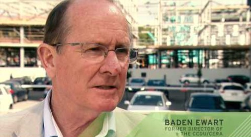 Baden Ewart, former Director of the CCDU/CERA on his personal key learnings