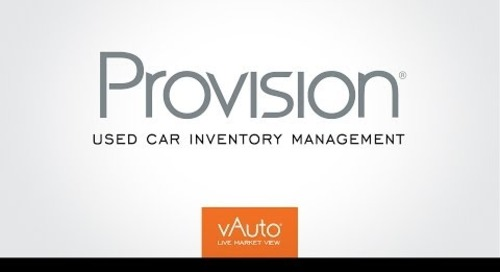 Provision Suite: Used Car Inventory Management Software
