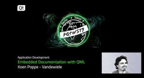 Create & translate software manuals with QML