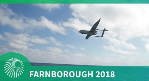 Farnborough 2018: Aerosonde® Small Unmanned Aircraft System (SUAS) Textron Systems