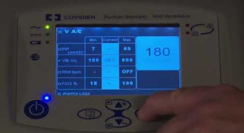 Puritan Bennett 560 Ventilator - Calibration Flow And Oxygen Sensor