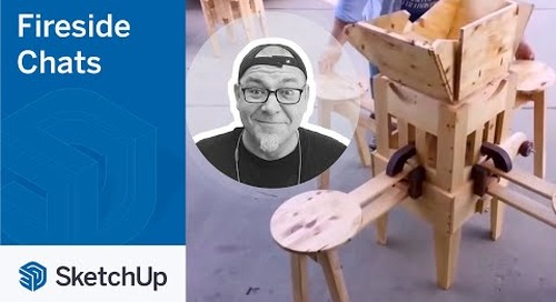 SketchUp for Creators – Izzy Swan   The Fireside Chat Series Season 2 Ep. 3