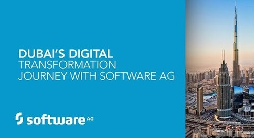 Dubai's digital transformation journey with Software AG
