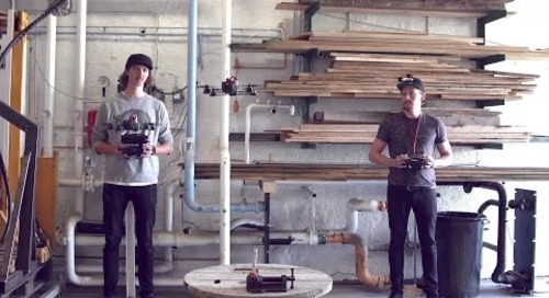 Bakomfilm Dronekakebaking