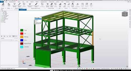 Tekla Structural Designer in 5 Minutes