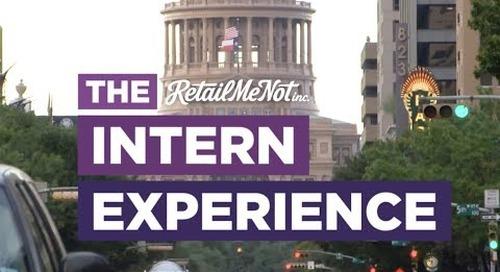 The RetailMeNot Intern Experience   #RMNlife