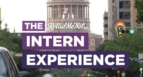 The RetailMeNot Intern Experience | #RMNlife