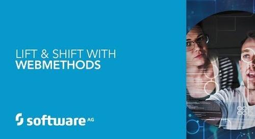 Lift & Shift with webMethods