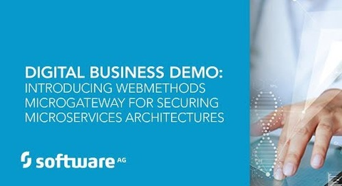Demo: webMethods Microgateway for Securing Microservices Architectures
