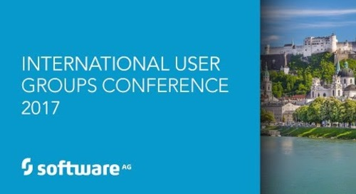 Impressions from our 2017 International User Groups Conference