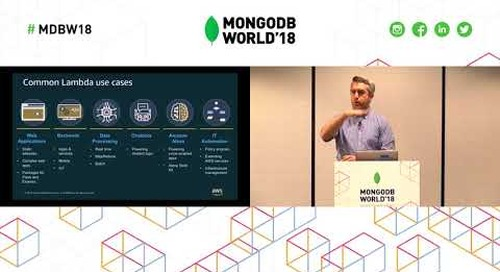 Tutorial - How to Build Applications with MongoDB Atlas and AWS Lambda
