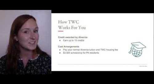 How TWC Works for Alvernia Students