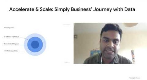 Accelerate & Scale: Simply Business Journey with Data
