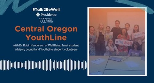 Talk2BeWell: Central Oregon YouthLine Takeover