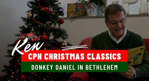Donkey Daniel in Bethlehem | Children's Christmas Bible Story Book Read Aloud by Ken Ohlemeyer