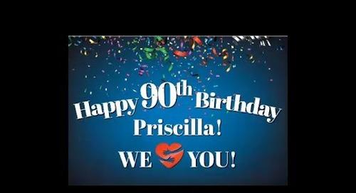 Happy Birthday Priscilla