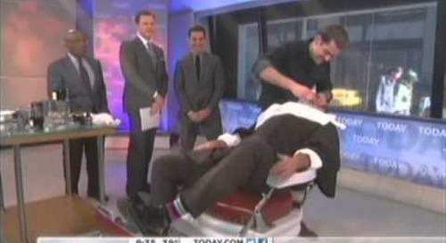 AHAVA Body Exfoliators on the Today Show