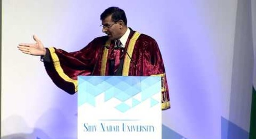 Dr. Raghuram Rajan's address at Shiv Nadar University Convocation, May 7, 2016 (Part 3)