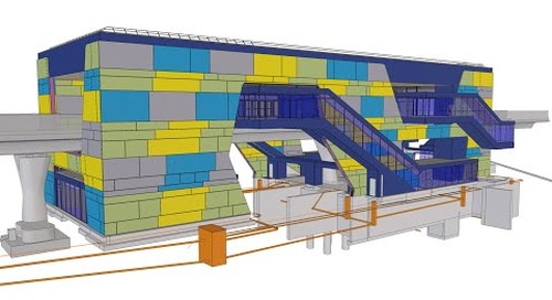 Tekla BIM Awards France 2020 : GUILLERM - Station Beaulieu