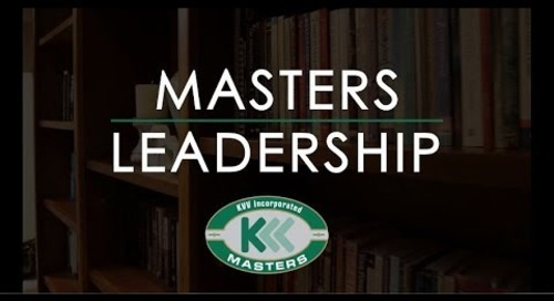 KVV Masters Leadership