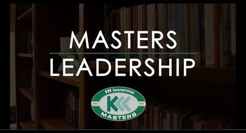 KVV Masters Leadership