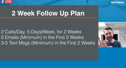 Get a 2-week Follow-up Process Guaranteed to 4-5x Your Conversions