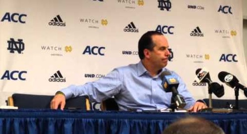 Mike Brey Press Conference (Jan. 19)