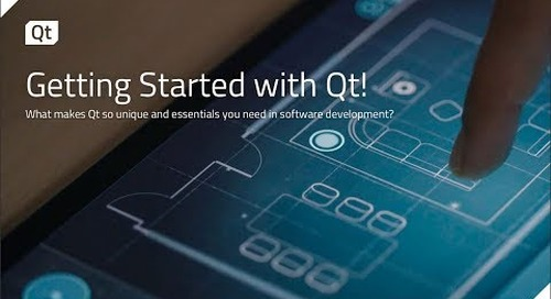 Get started with Qt {on-demand webinar}