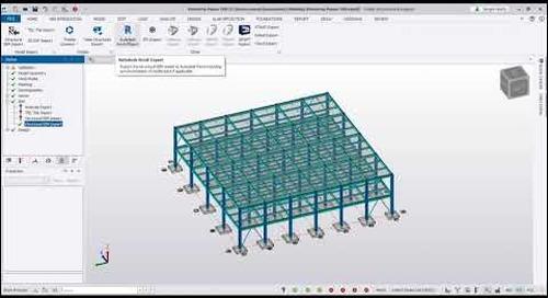 Interoperabilidad en Tekla Structural Designer