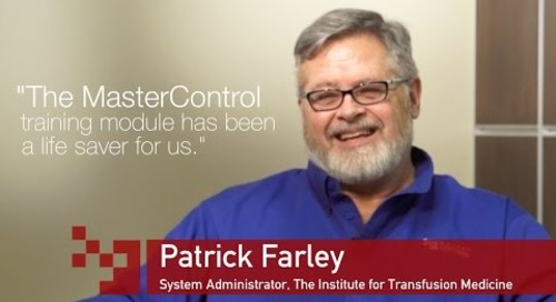 How MasterControl's Training Management Software Helps the Institute for Transfusion Medicine