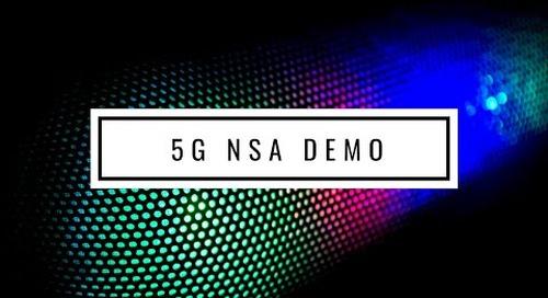 Radisys 5G NSA Demo at MWC2019