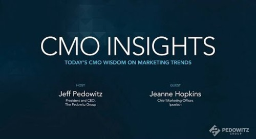 CMO Insights: Jeanne Hopkins, Executive Vice President and CMO, Ipswitch
