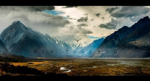 Travel New Zealand in a Minute  - Aerial Drone Video | Expedia