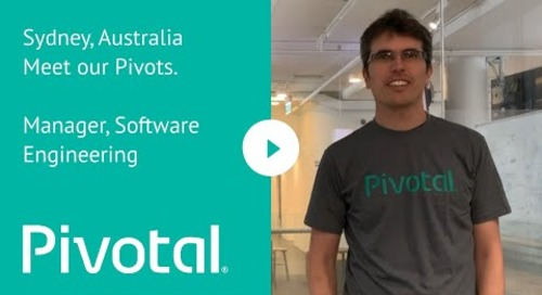 Sydney, Australia Meet our Pivots. Manager, Software Engineering